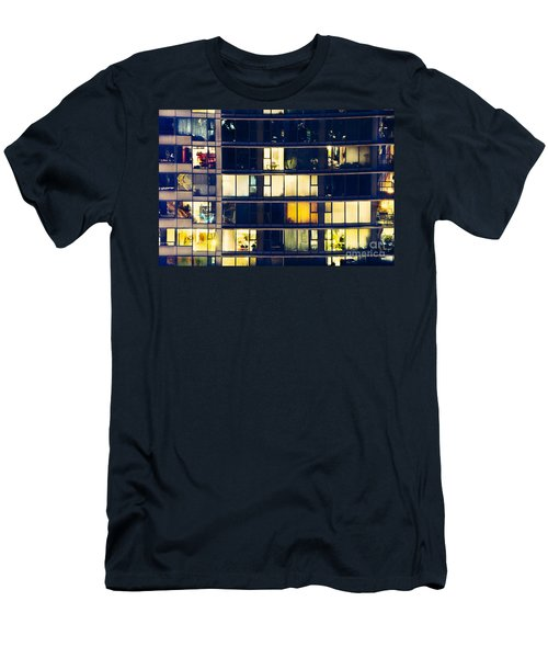 Men's T-Shirt (Slim Fit) featuring the photograph Voyeuristic Pleasure Cdlxxxviii by Amyn Nasser