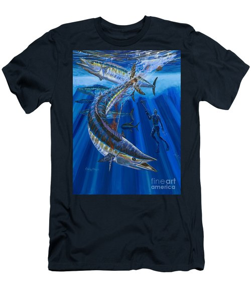 Wahoo Spear Men's T-Shirt (Athletic Fit)