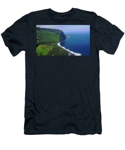 Waipio Valley Men's T-Shirt (Slim Fit) by Pamela Walton