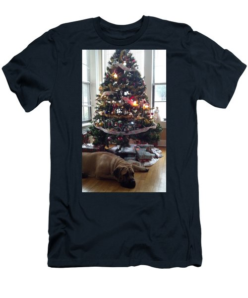 Waiting For Santa Men's T-Shirt (Athletic Fit)