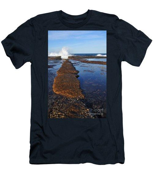 Walk The Line Men's T-Shirt (Athletic Fit)