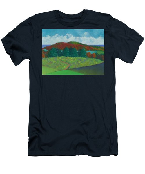 Walking Meditation Men's T-Shirt (Athletic Fit)