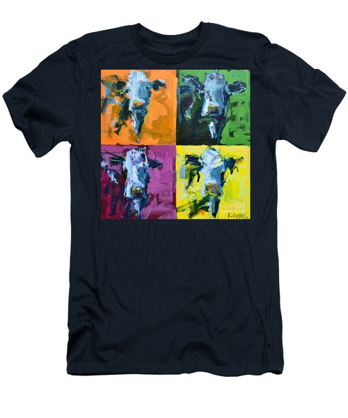Warhol Cows Men's T-Shirt (Athletic Fit)