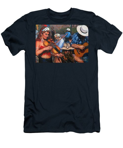 Washboard Lissa On Fiddle Men's T-Shirt (Athletic Fit)