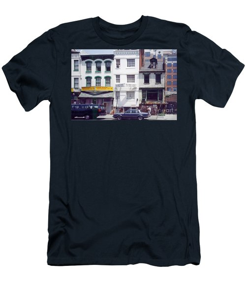 Washington Chinatown In The 1980s Men's T-Shirt (Athletic Fit)