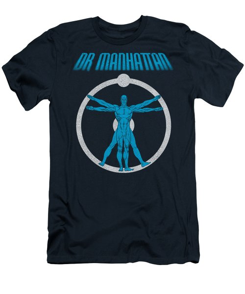 Watchmen - Anatomy Men's T-Shirt (Athletic Fit)