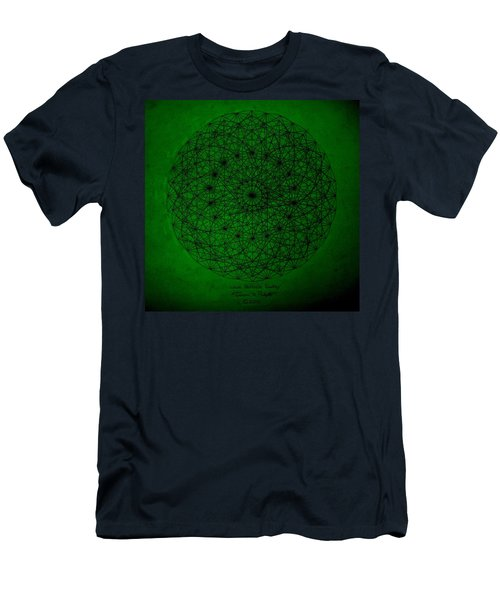 Wave Particle Duality II Men's T-Shirt (Athletic Fit)