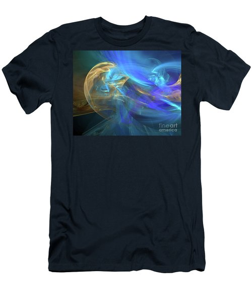Waves Of Grace Men's T-Shirt (Athletic Fit)