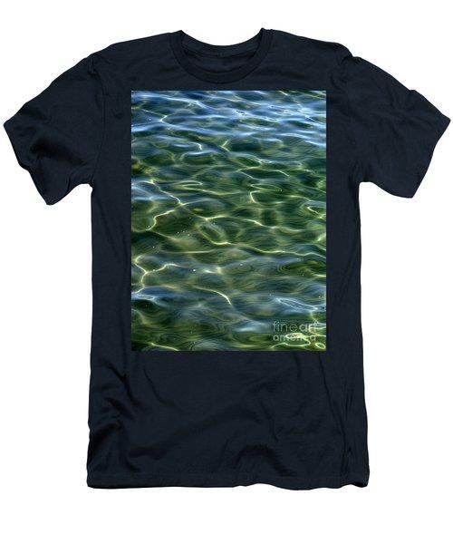 Waves On Lake Tahoe Men's T-Shirt (Slim Fit)