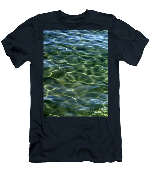 Waves On Lake Tahoe Men's T-Shirt (Athletic Fit)