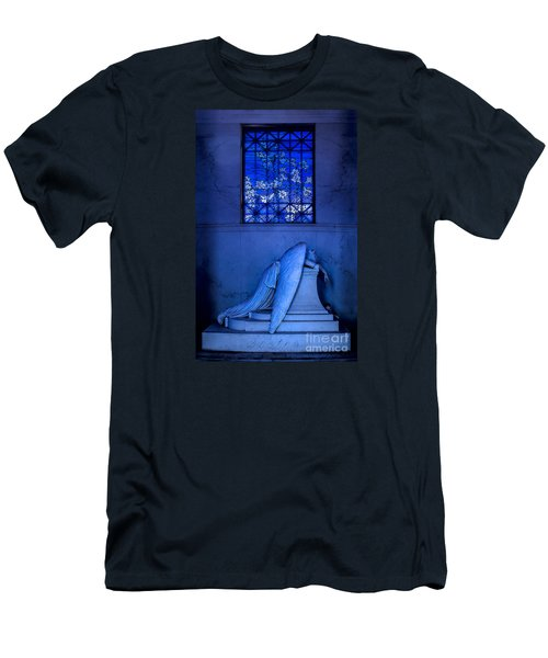 Weeping Angel Men's T-Shirt (Slim Fit) by Jerry Fornarotto