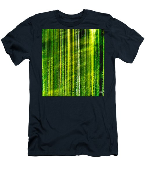 Weeping Willow Tree Ribbons Men's T-Shirt (Athletic Fit)