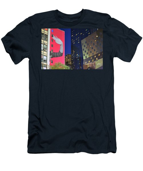 Welcome To New York Men's T-Shirt (Slim Fit) by Jeffrey Friedkin