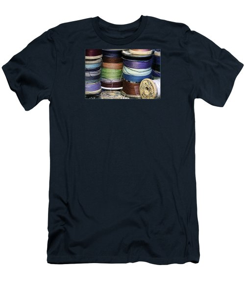 Spools Of Thread Men's T-Shirt (Athletic Fit)