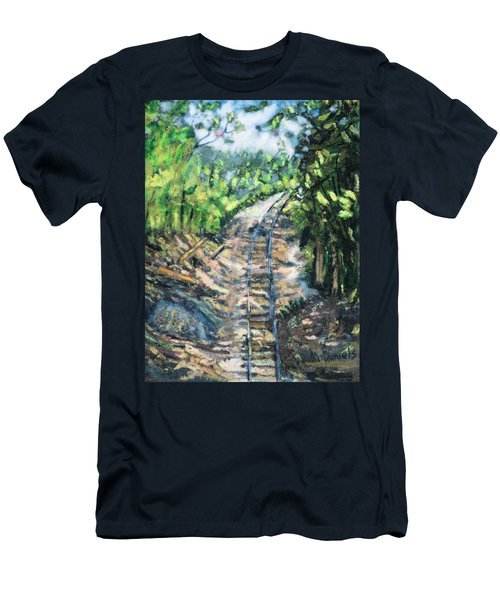 What's Around The Bend? Men's T-Shirt (Athletic Fit)