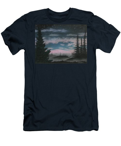 Whispering Pines 02 Men's T-Shirt (Athletic Fit)