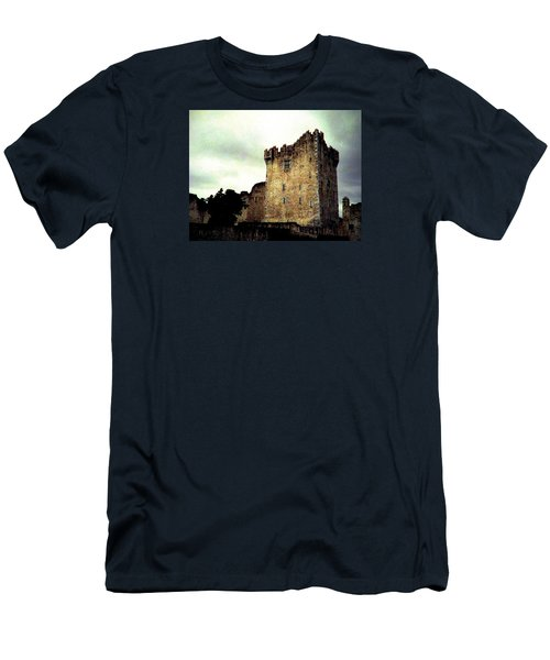 Men's T-Shirt (Slim Fit) featuring the photograph Whispers And Footsteps by Angela Davies