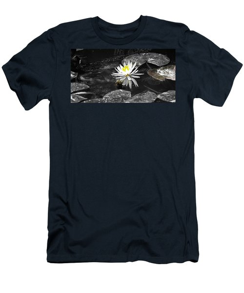 White Lilly Men's T-Shirt (Athletic Fit)