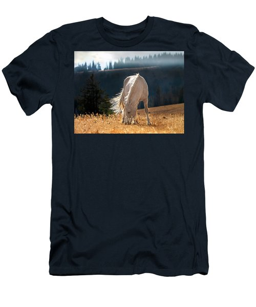 Wild Horse Cloud Men's T-Shirt (Athletic Fit)