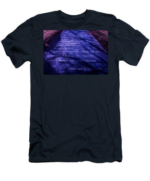 Wilderness - Carl Sandburg Men's T-Shirt (Athletic Fit)