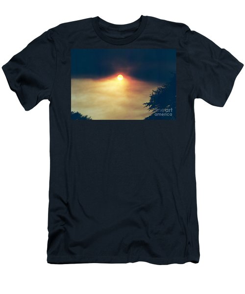 Men's T-Shirt (Slim Fit) featuring the photograph Wildfire Smoky Sky by Kerri Mortenson