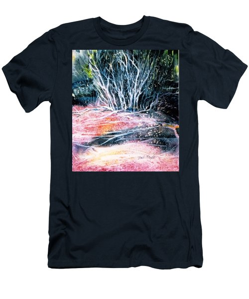 Winter Habitat No.1 Men's T-Shirt (Slim Fit) by Trudi Doyle