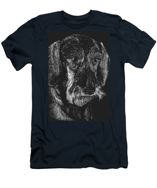 Wire Haired Dachshund Men's T-Shirt (Athletic Fit)