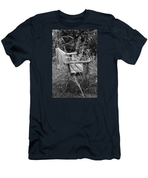 Wood Bench Men's T-Shirt (Athletic Fit)