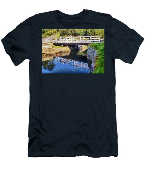 Wooden Bridge Men's T-Shirt (Athletic Fit)
