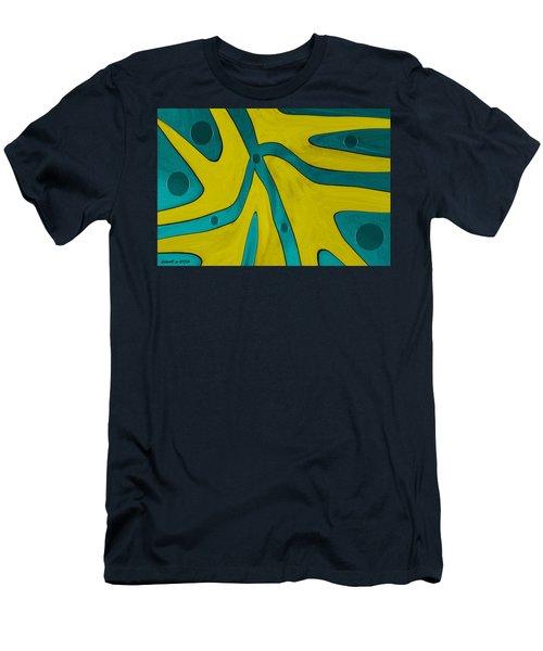 Yellow People Men's T-Shirt (Slim Fit) by Sir Josef - Social Critic -  Maha Art