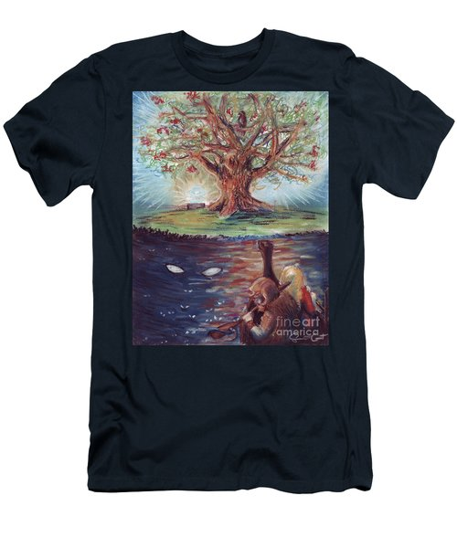 Yggdrasil - The Last Refuge Men's T-Shirt (Athletic Fit)