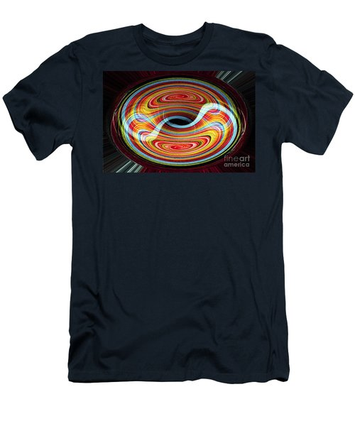Yin And Yang - Abstract Men's T-Shirt (Athletic Fit)