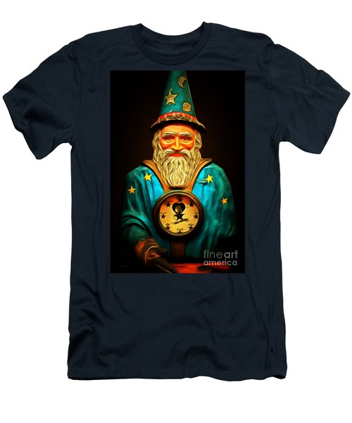 Your Fortune Be Told By The Wizard Fortune Telling Machine 7d144 Men's T-Shirt (Athletic Fit)