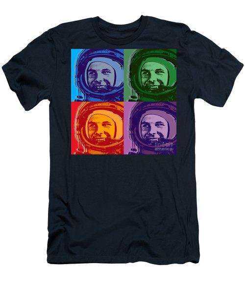Yuri Gagarin  Men's T-Shirt (Athletic Fit)