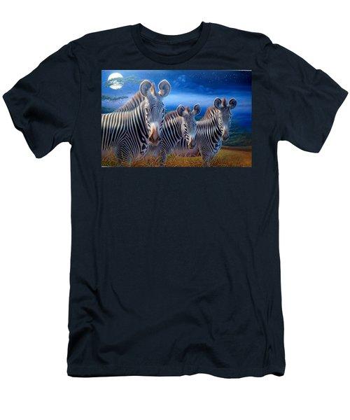Zebras Men's T-Shirt (Slim Fit) by Hans Droog