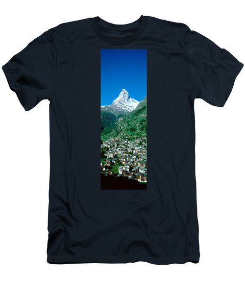 Zermatt, Switzerland Men's T-Shirt (Athletic Fit)
