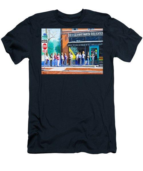 Zingerman's Deli Men's T-Shirt (Athletic Fit)