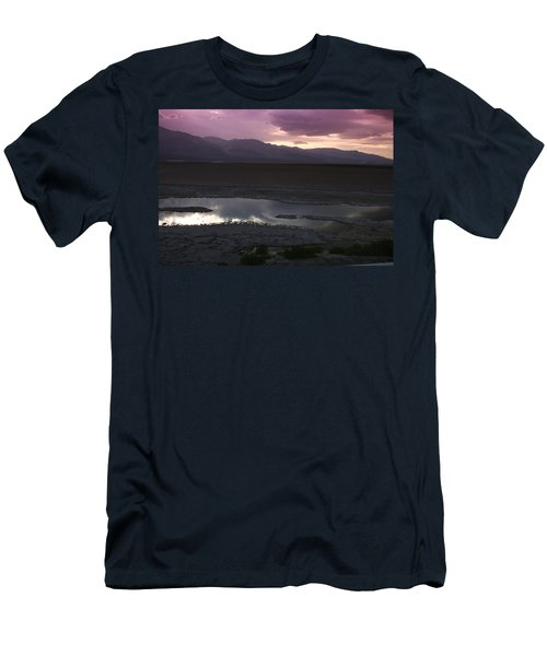 Badwater Basin Death Valley National Park Men's T-Shirt (Athletic Fit)