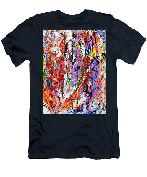 Jazz Men's T-Shirt (Slim Fit) by Elf Evans