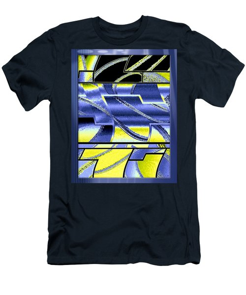 Abstract Fusion 98 Men's T-Shirt (Athletic Fit)