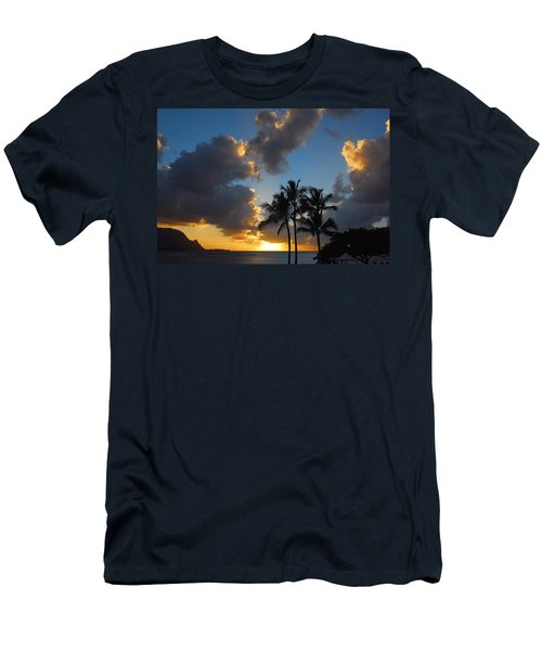 Bali Hai Sunset Men's T-Shirt (Slim Fit) by Lynn Bauer