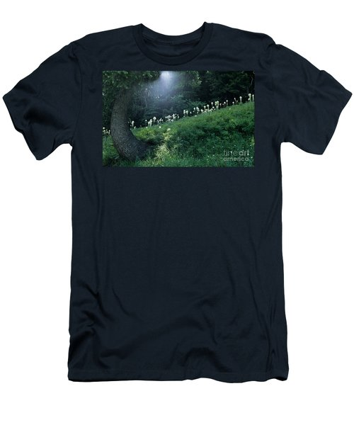 Bear-grass Ridge Men's T-Shirt (Slim Fit) by Sharon Elliott