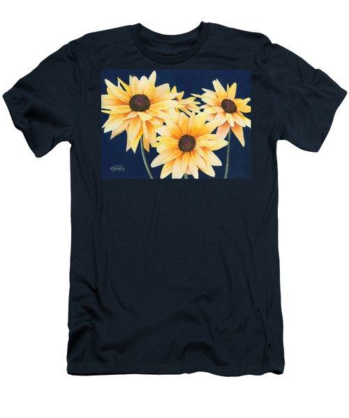 Black Eyed Susans 2 Men's T-Shirt (Athletic Fit)