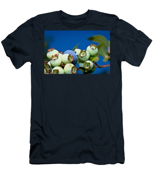 Blueberries And Sky Men's T-Shirt (Athletic Fit)