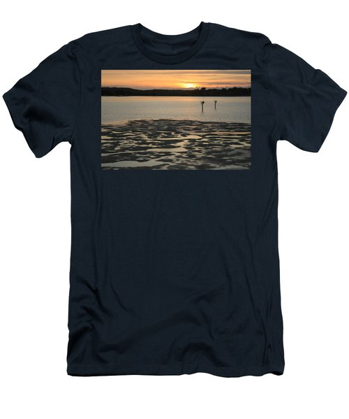 Bodega Bay Sunset Men's T-Shirt (Athletic Fit)
