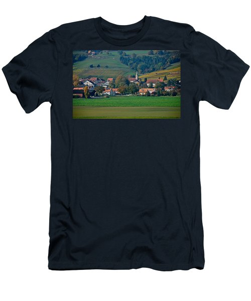 Men's T-Shirt (Slim Fit) featuring the photograph Bonvillars by Eric Tressler