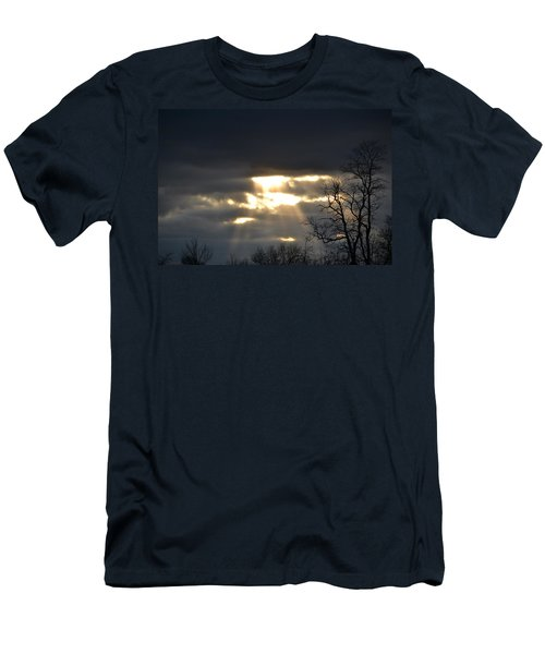Break In The Clouds Men's T-Shirt (Athletic Fit)