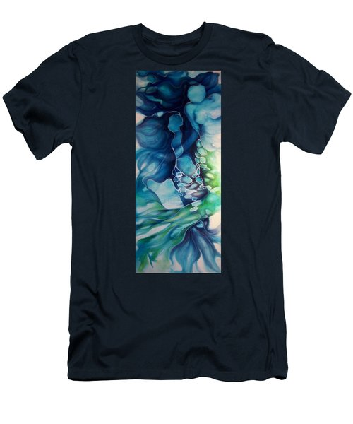 Calming Current 1 Men's T-Shirt (Athletic Fit)