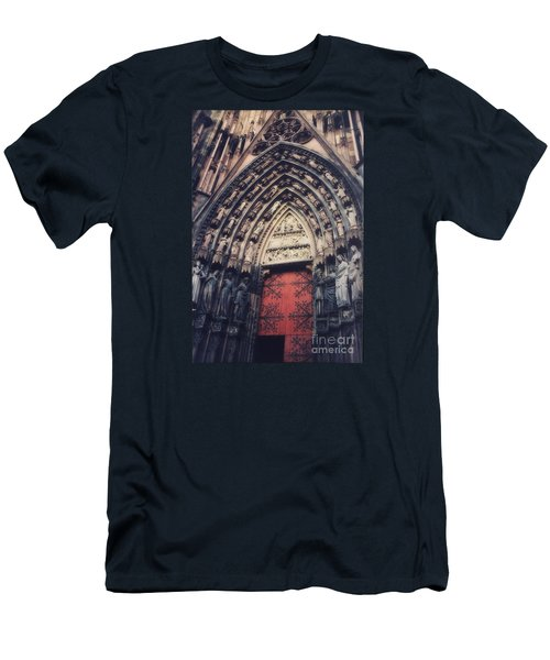 Cathedral Men's T-Shirt (Slim Fit) by Paul  Wilford