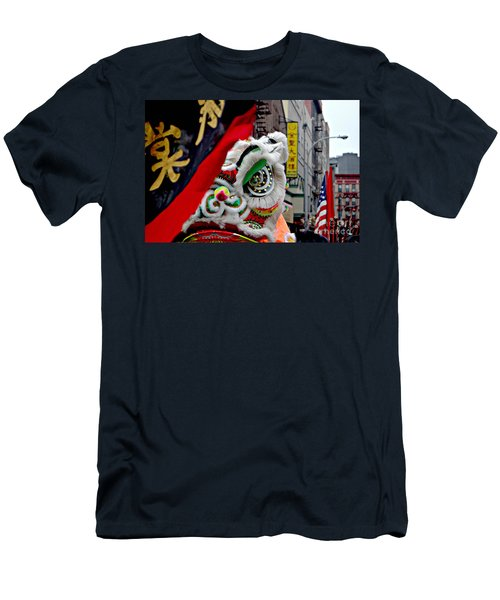 Chinese New Years Nyc  4704 Men's T-Shirt (Athletic Fit)